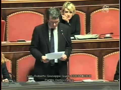 Emendamento presentato al Senato dal Senatore COCIANCICH alla legge europea 2015