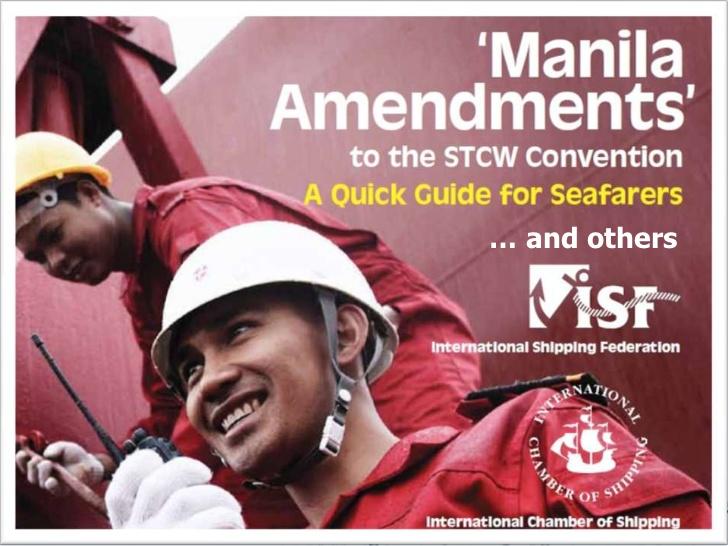 Agitazione dei Marittimi per gli Emandamenti di Manila 2010