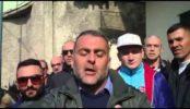 Protesta capitaneria di porto Torre del Greco