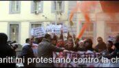Protesta cassa marittima