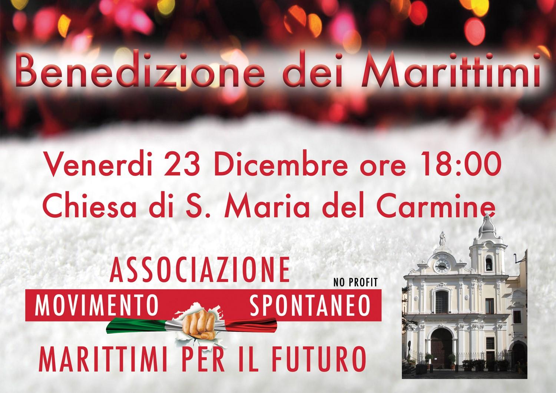 """Don Mario Pasqua """"Benedizione ai marittimi vicini e lontani""""."""