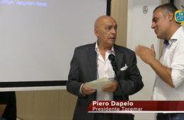 Intervento di Piero Dapelo (Presidente Toremar) durante il convegno Italia marittimi quale futuro.
