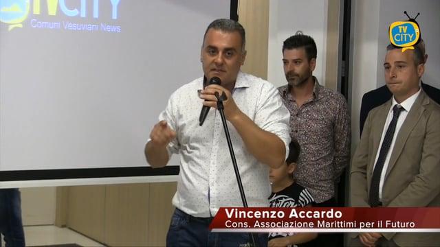 Intervento di Vincenzo Accardo (Cons. Marittimi per il futuro) durante il convegno Italia marittimi quale futuro.