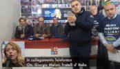 """Meloni risponde all'invito dei marittimi: """"Fratelli D'Italia sarà al vostro fianco"""""""