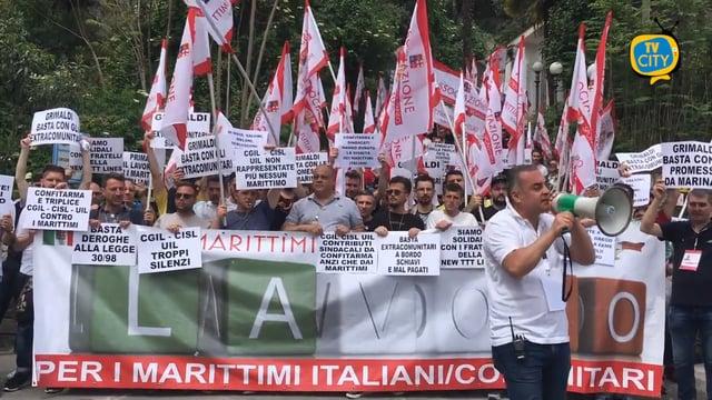 """Marittimi per il futuro"""", questa mattina mobilitazione a Sorrento –"""