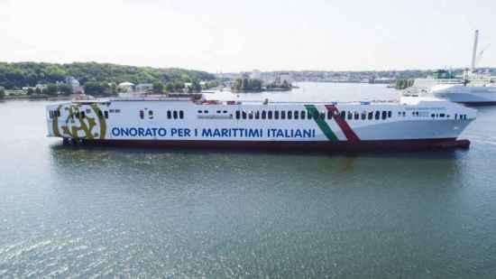 """Vincenzo Onorato: il varo della """"Maria Grazia Onorato"""""""