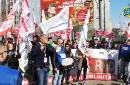 Presidio dell'associazione Marittimi per il Futuro a Napoli