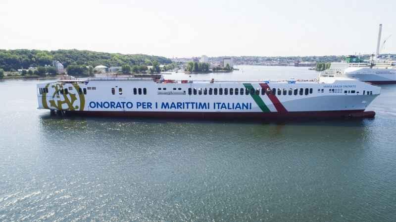 Maria Grazia Onorato da maggio sulla Genova-Livorno-Catania-Malta